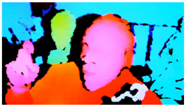 A Clipse Video Shot With a Kinect Camera