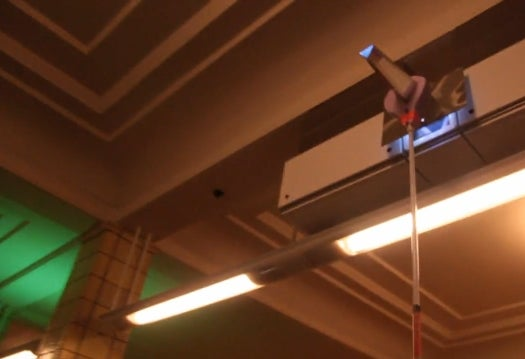 Berlin Installs Ad Projectors, Citizens Turn Them Into Prismatic Art