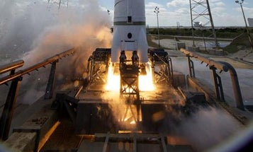 SpaceX Successfully Test-Fires Falcon 9 Rocket Motors, Could Launch Next Month