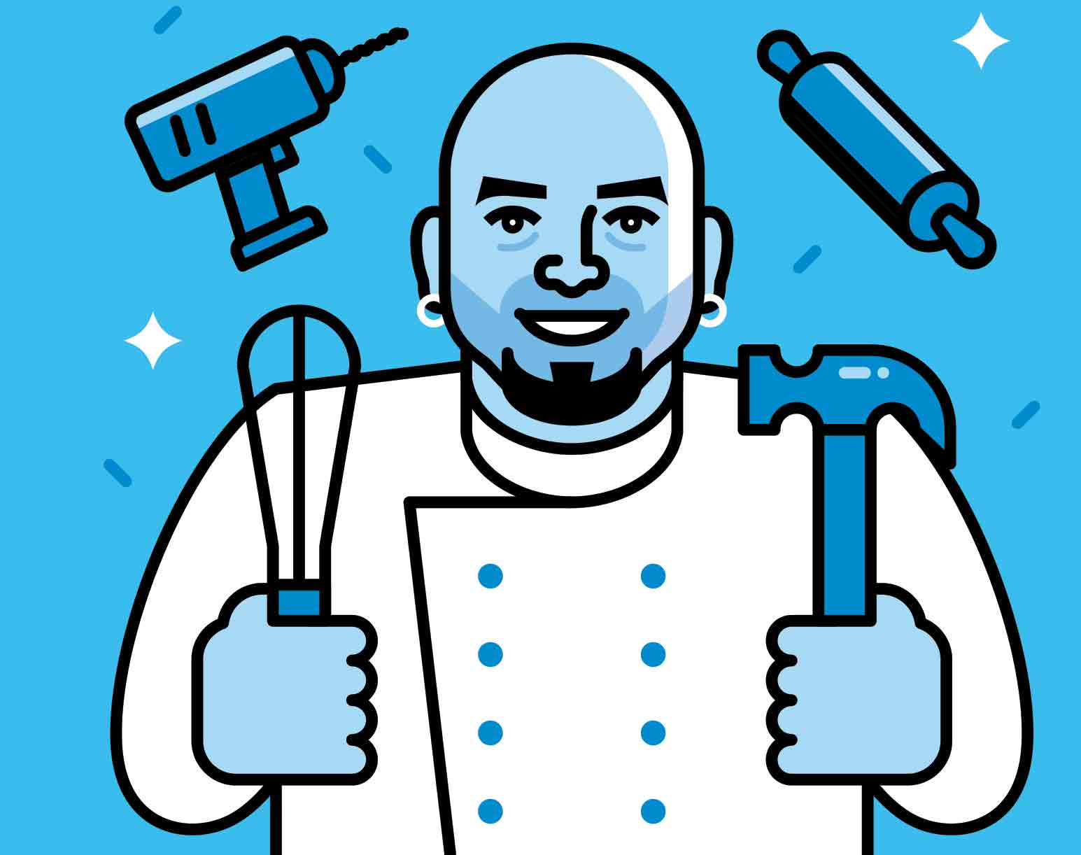 Ace Of Cakes Duff Goldman talks cake hacking