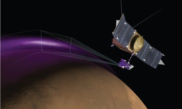 Unexplained Aurora And Dust Clouds Spotted Above Mars