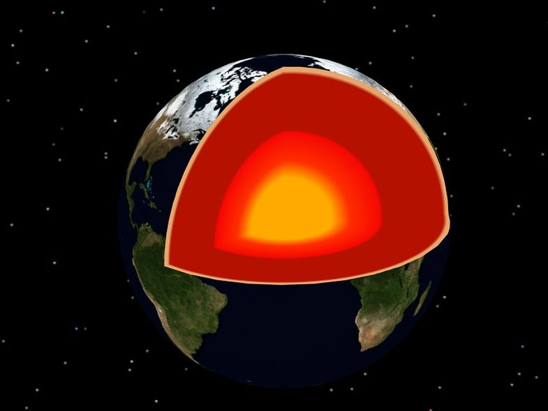 Earth's Core Is Weaker Than We Thought