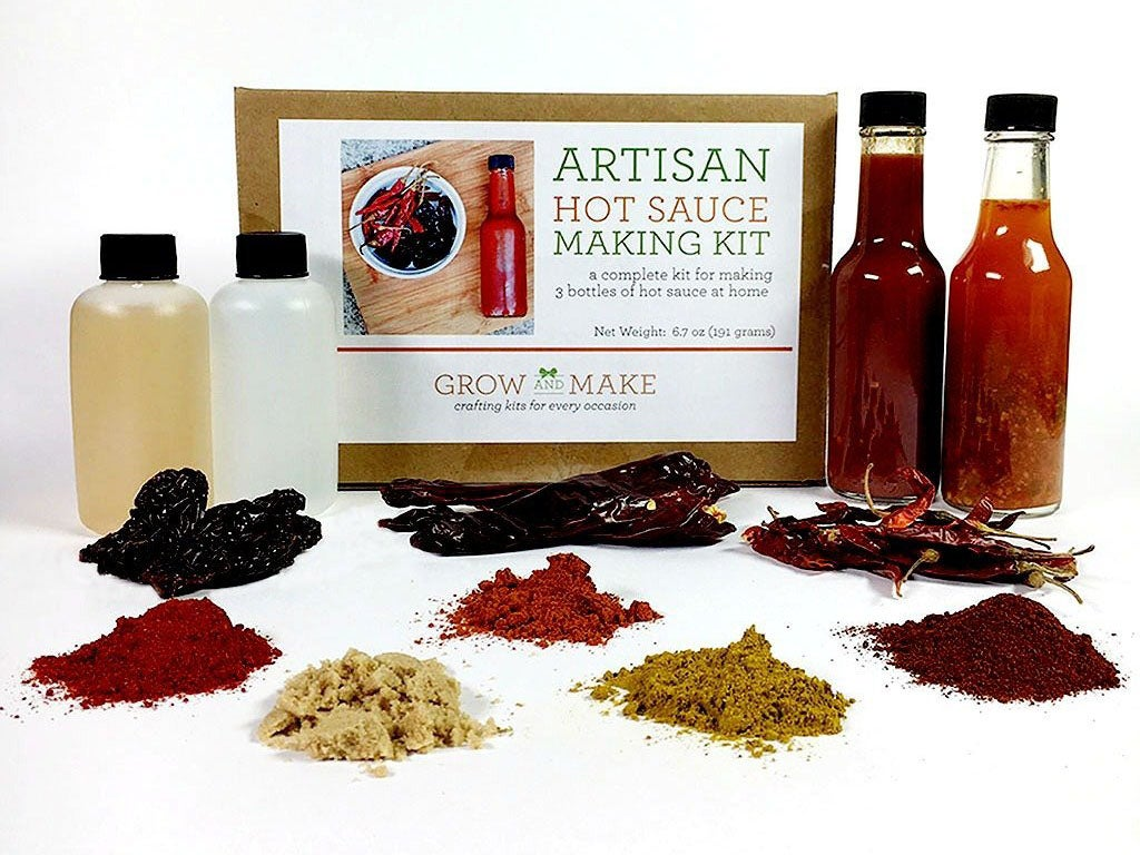 Make-Your-Own Hot Sauce Kit