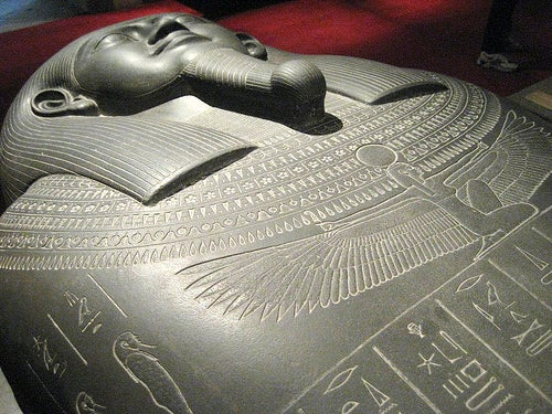 Sarcophagus from ancient egypt