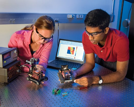Design a Micro-Drone at U.S. Army Research Laboratory, Aberdeen Proving Ground