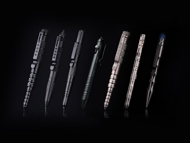 These impact-resistant pens might just save your life