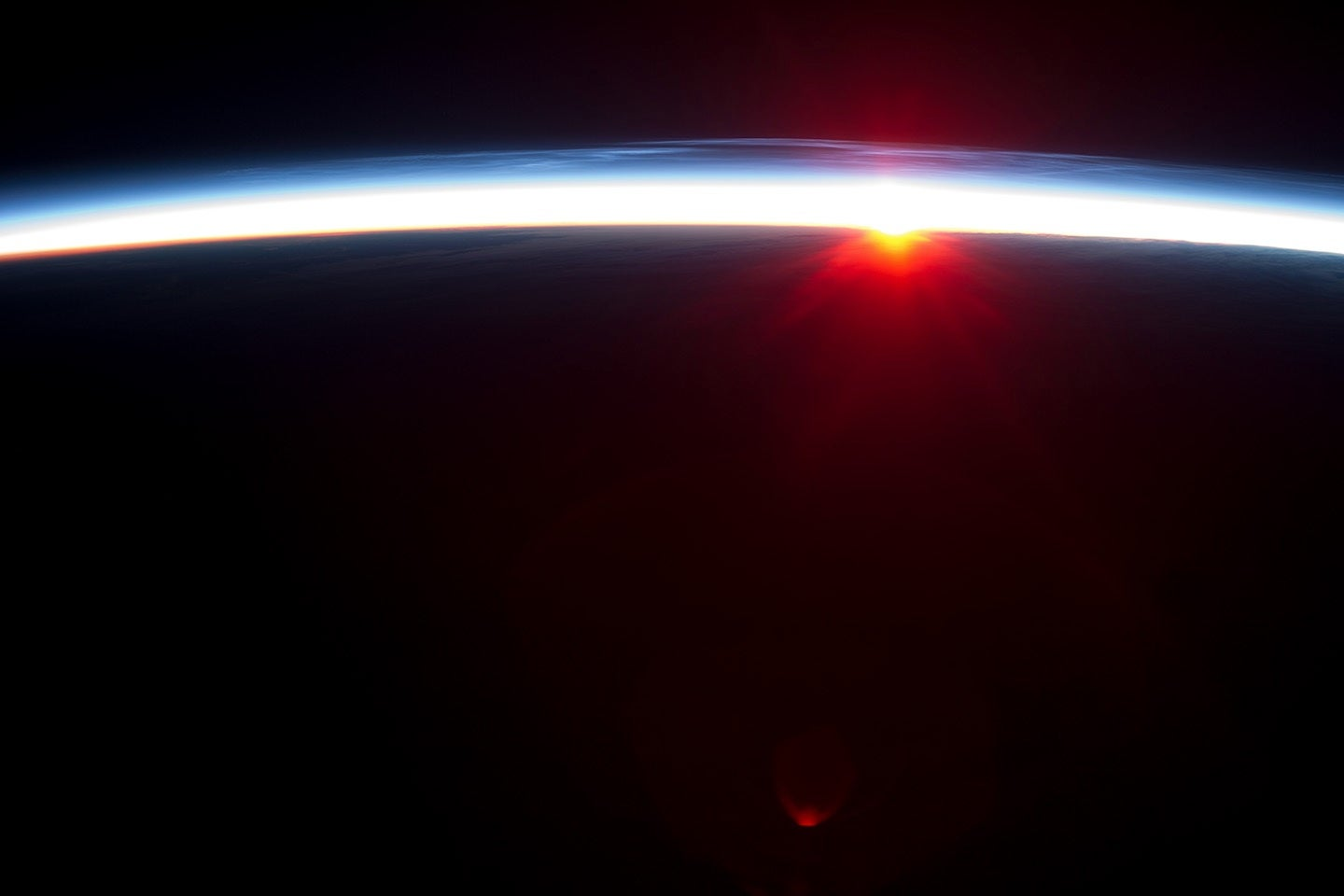 Big Pic: Sunrise Over A Dark Earth, As Seen From The ISS