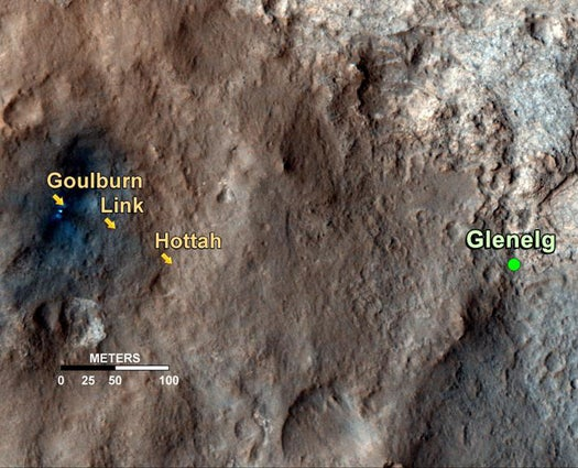 Today On Mars: Check Out Curiosity's Martian Roadmap