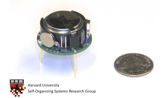 Video: Introducing Kilobot, a Swarm Robot Cheap Enough to Actually Swarm