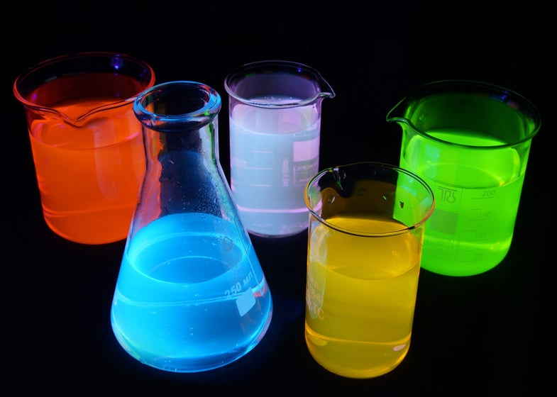 How To Make Alcoholic Glowsticks—That Won't Explode
