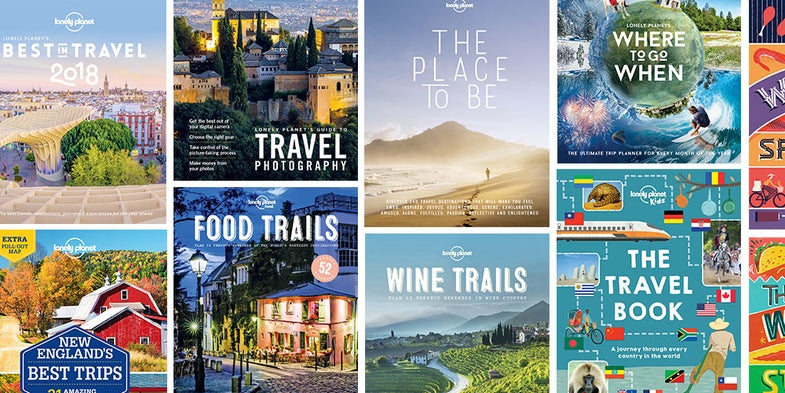 Snag 24 unique travel guides from Lonely Planet today for just $19.99