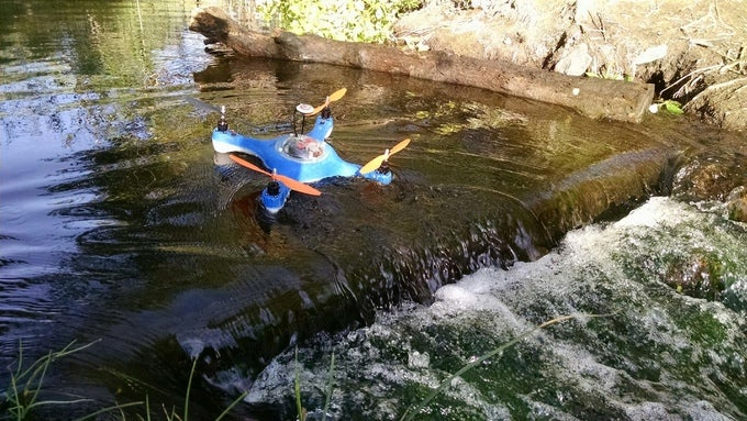 Crowdfund A Waterproof, Sonar-Toting Drone For Fishermen
