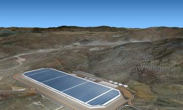 Peek At Tesla's Gigafactory Progress