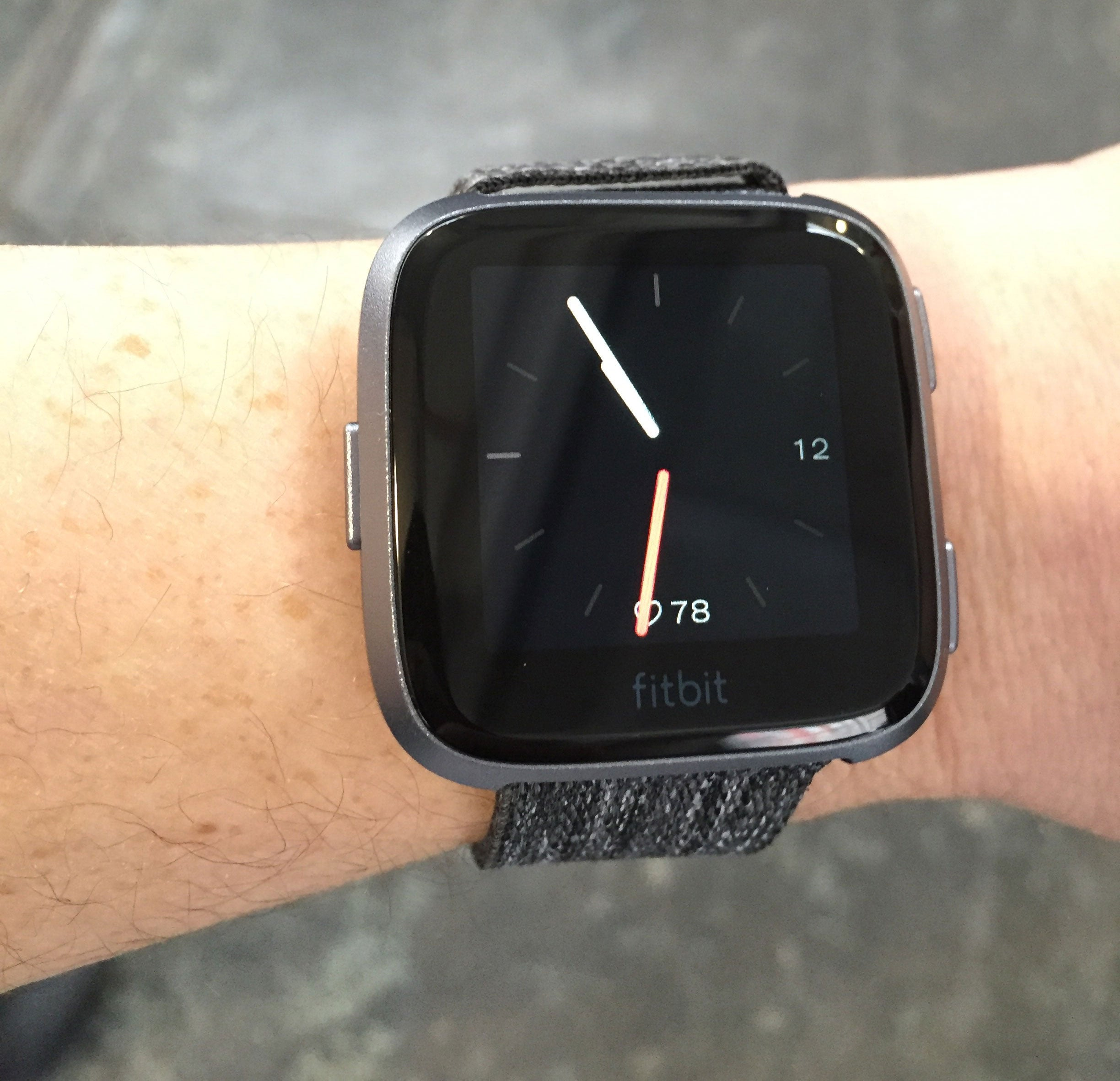 The Fitbit Versa is a $200 smart watch that does more than count steps