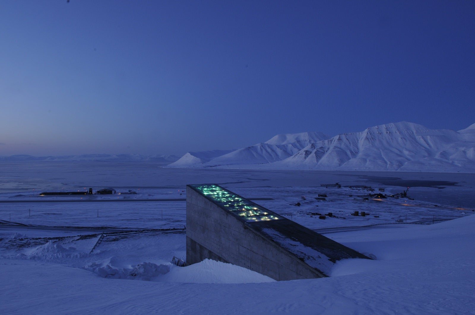 Turns out the Svalbard seed vault is probably fine