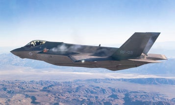 Watch America's Pricey New Stealth Fighter Fire Its Gun In Midair