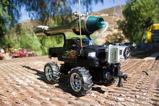 Sponsored Post: Radioshack Remote Controlled Pulse Jet Engine DIY Project