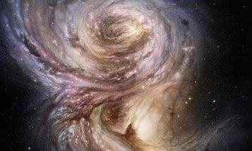 Bending Gravity, Researchers Capture Star-Birthing Region 10 Billion Light Years Away