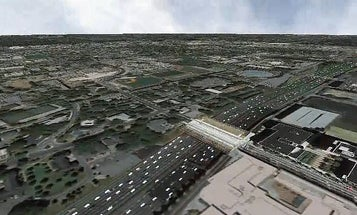 Augmented Google Earth Gets Real-Time People, Cars, Clouds
