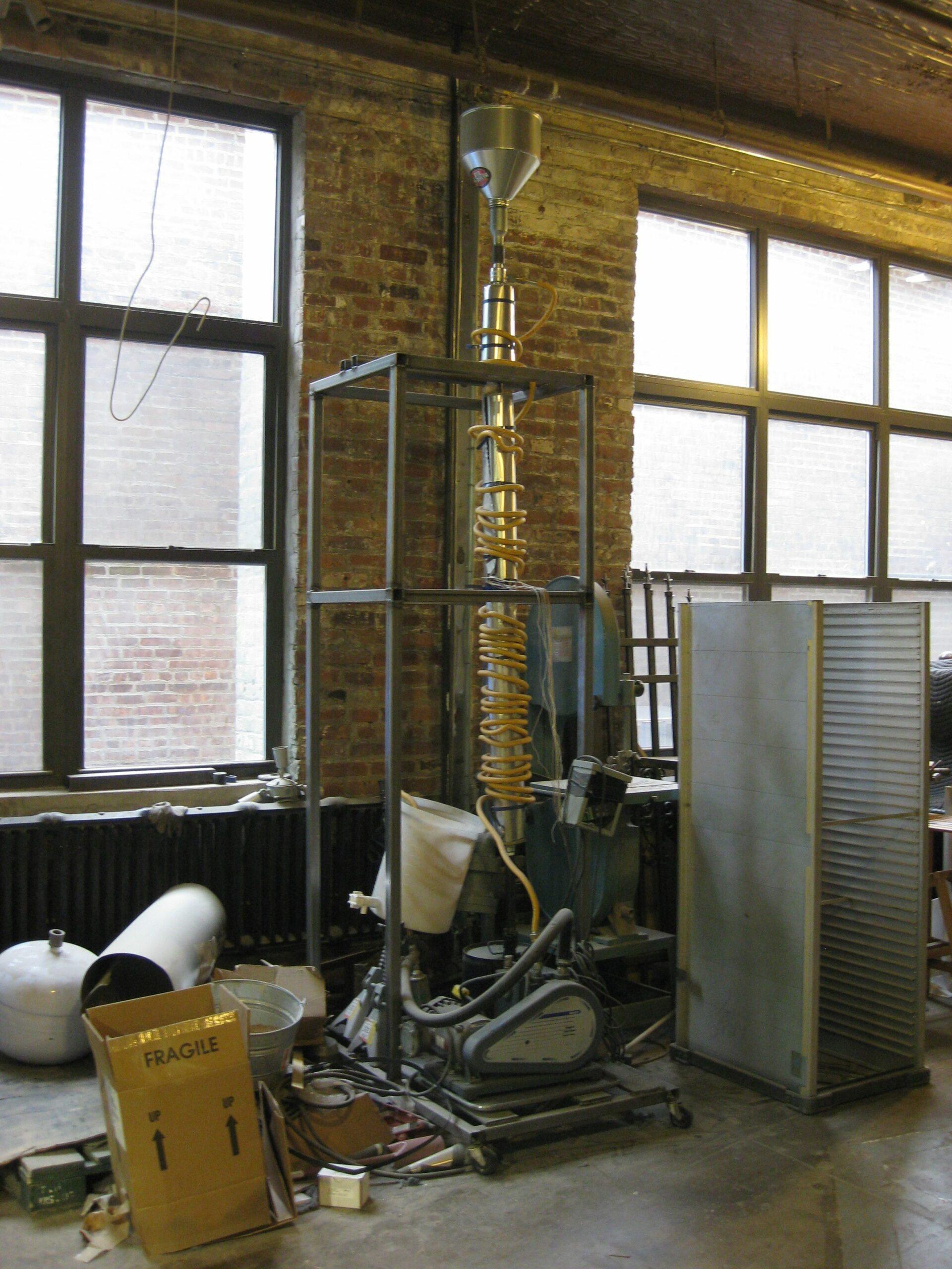 Home-Brewing Biochar in Brooklyn