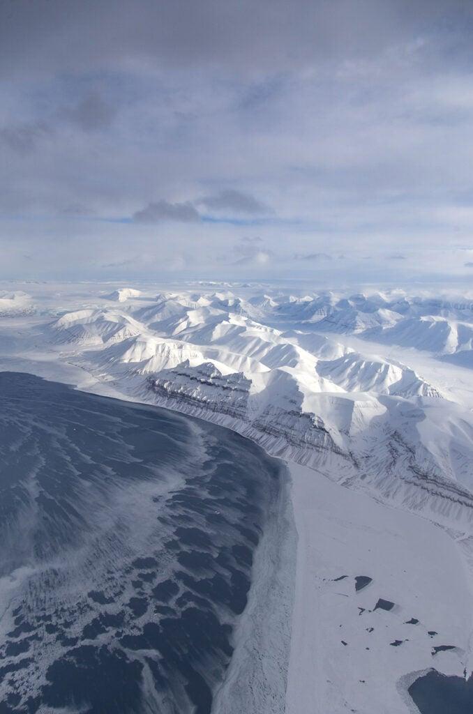 Svalbard and sea ice