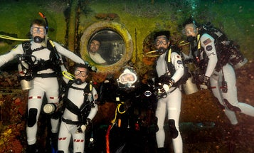 Jacques Cousteau's Grandson Plans To Live Underwater For A Month
