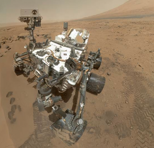 The Year On Mars: The Red Planet's Greatest Moments Of 2012