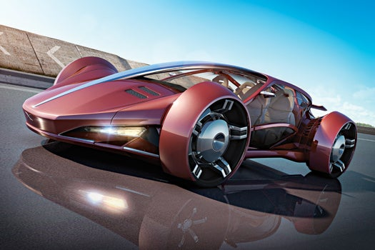 Future Drive Concept: The Electric Luxury Racer