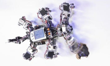 """A Robot That Takes Surer Steps Using """"Chaos Control"""""""