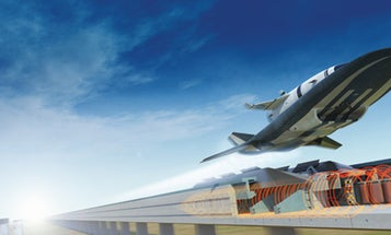 NASA Engineers Propose Combining a Rail Gun and a Scramjet to Fire Spacecraft Into Orbit