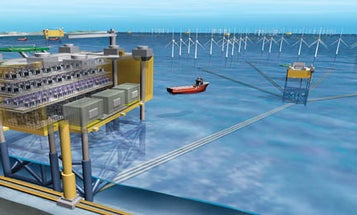 Hundreds of Miles of Wind Farms, Networked Under the Sea