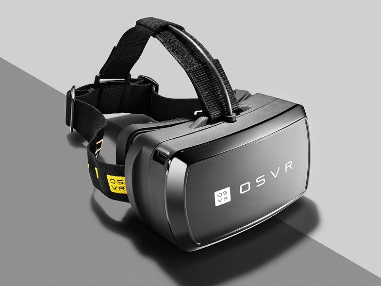 Razer OSVR Is A Printable, Hackable Virtual Reality Headset