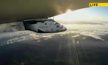 Watch Solar Impulse Plane Fly From Silicon Valley To Phoenix, Live