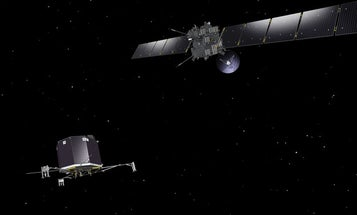 Despite Small Glitch, The Comet-Chasing Craft Rosetta Has Awoken After Years Of Sleep