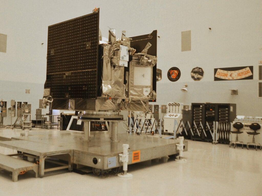 Another view of OSIRIS-REx
