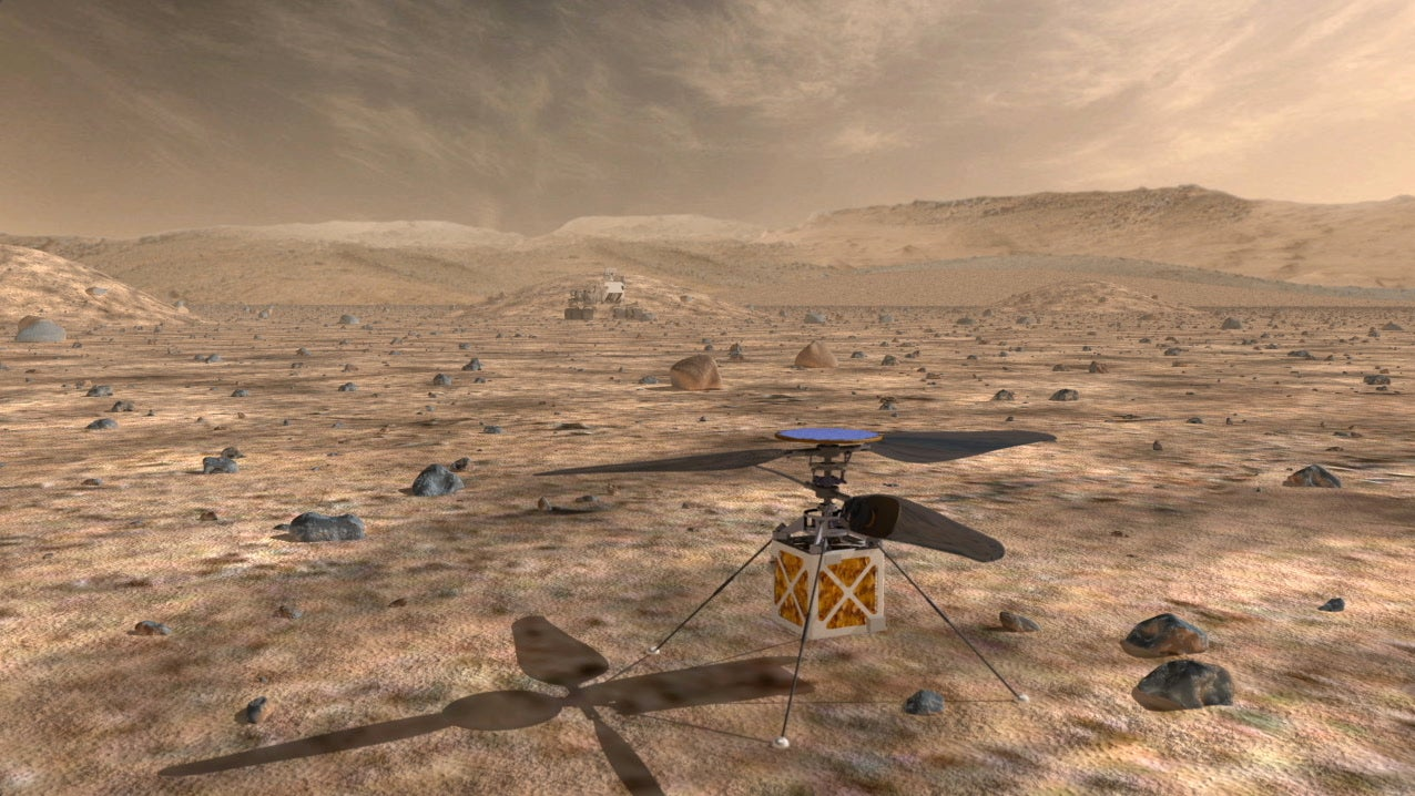 Mars 2020 Rover May Have A Little Flying Helper Drone
