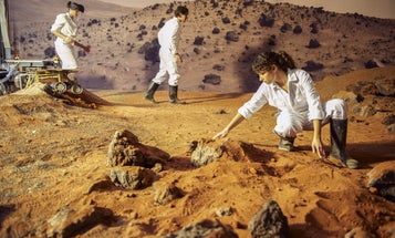 Big Pic: The Mars Yards Where Rovers Practice On Earth
