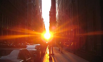 The Cosmic Alignment Known As 'Manhattanhenge' Begins Tonight