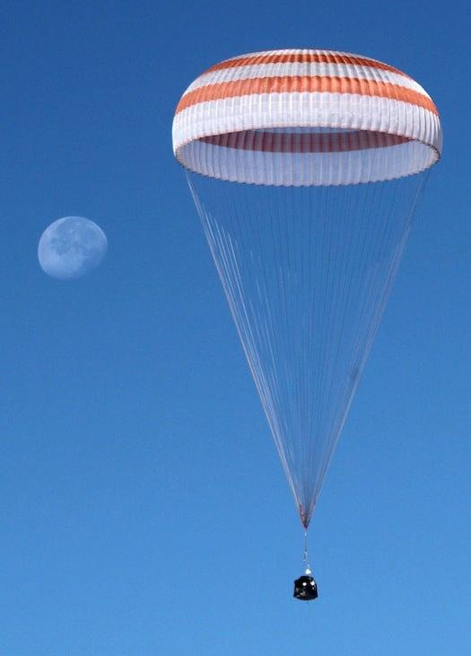 Russian Soyuz Spacecraft Lands Safely in Kazakhstan, Three Astronauts in Tow