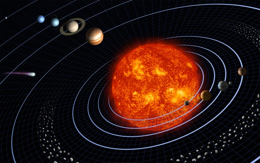 Simulation Suggests There May Have Been a Fifth Gas Giant in Our Solar System