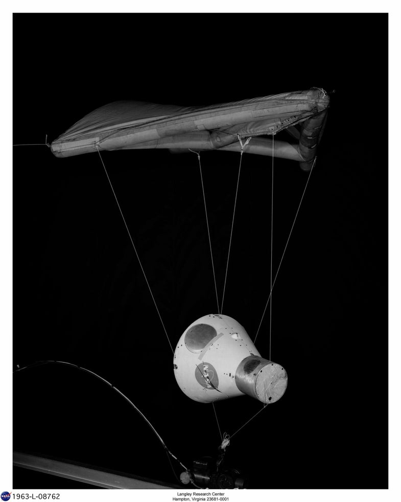 A Gemini Model with Paraglider