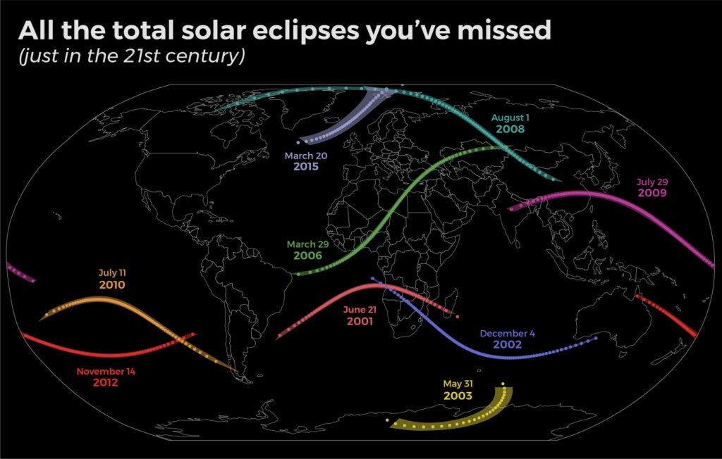 eclipse map