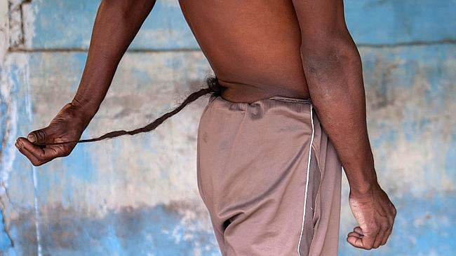 Woman Forced to Marry Man-God with Tail