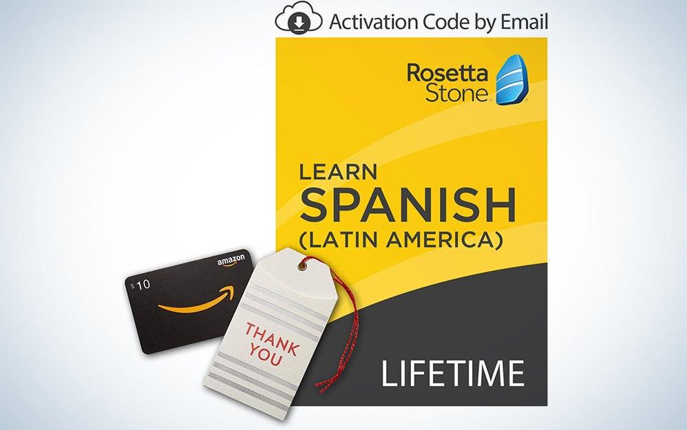 Rosetta Stone Spanish language lessons