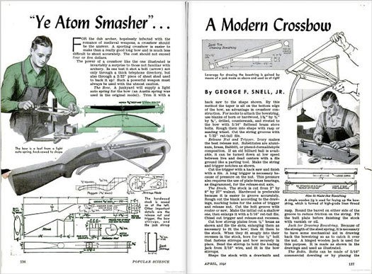 Build Your Own Crossbow: April 1940