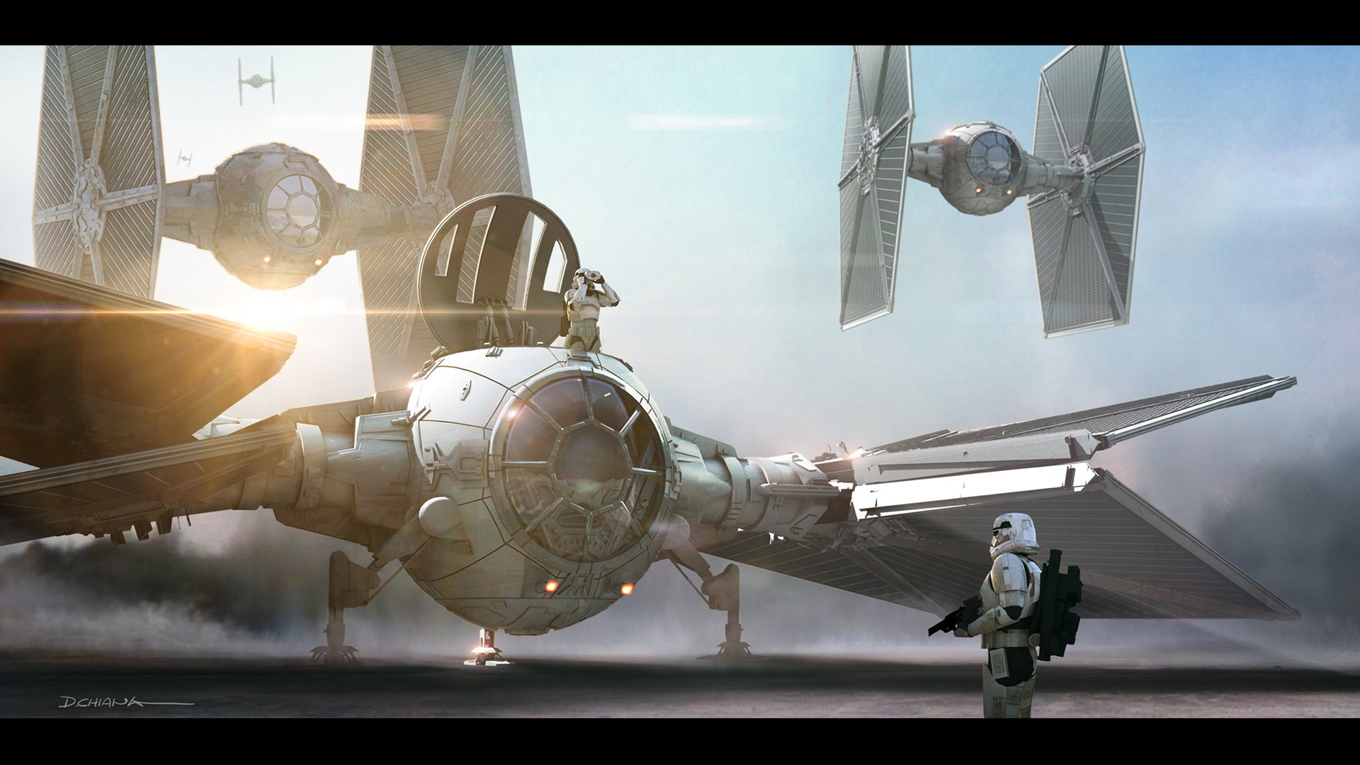 Look At This Amazing 'Star Wars: The Force Awakens' Concept Art