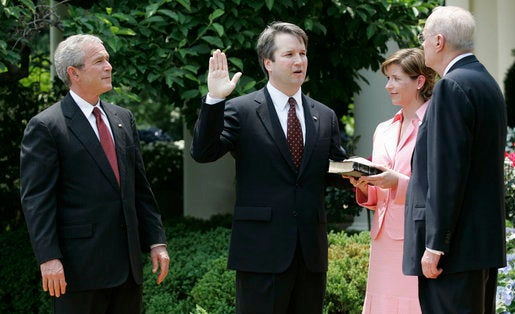 Here's where Supreme Court nominee Brett Kavanaugh lands on big science issues