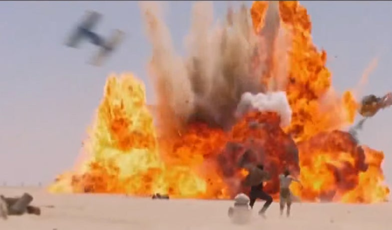 Watch 15 Straight Seconds Of Star Wars Action