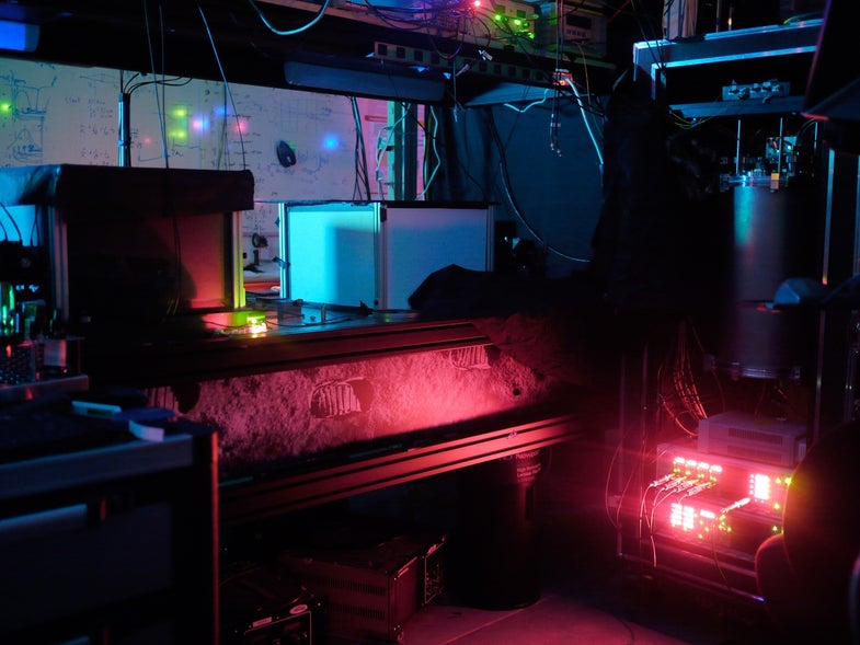 Spooky Action In Threes: Physicists Entangle Three Particles Of Light