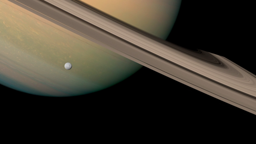 Stunning Video: A Series of Cassini Images Stitched into a Swirling Saturn-Scape